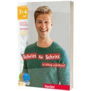 Schritt fur Schritt in Alltag und Beruf 3 + 4. Medienpaket, Daniela Niebisch, HUEBER