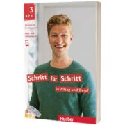 Schritt fur Schritt in Alltag und Beruf 3. Kursbuch und Arbeitsbuch, Daniela Niebisch, HUEBER