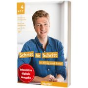 Schritt fur Schritt in Alltag und Beruf 4. Digitale Ausgabe Digitalisiertes Kurs und Arbeitsbuch mit integrierten Audio und Videodateien, Daniela Niebisch, HUEBER
