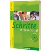 Schritte international 1. Kursbuch und Arbeitsbuch mit Audio CD zum Arbeitsbuch und interaktiven Ubungen, Daniela Niebisch, HUEBER