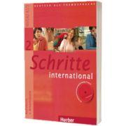 Schritte international 2. Kursbuch und Arbeitsbuch mit Audio CD zum Arbeitsbuch und interaktiven Ubungen, Daniela Niebisch, HUEBER