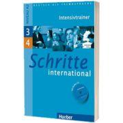 Schritte international 3 und 4. Intensivtrainer MIT Audio CD, Daniela Niebisch, HUEBER