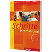 Schritte International 4. Kursbuch Und Arbeitsbuch MIT CD Zum Arbeitsbuch, Daniela Niebisch, HUEBER
