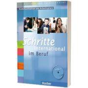 Schritte International. Kommunikation am Arbeitsplatz. Deutsch als Fremdsprache Ubungsbuch mit Audio-CD, Gloria Bosch, HUEBER