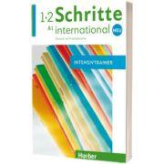 Schritte international Neu 1+2. Intensivtrainer mit Audio-CD, Daniela Niebisch, HUEBER