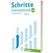 Schritte international Neu 2. Lehrerhandbuch, Susanne Kalender, HUEBER