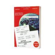 Bacalaureat biologie 2022 clasele XI-XII. Sinteze teste si rezolvari (Editie revizuita)