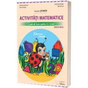 Activitati matematice, caiet de lucru pentru 3-4 ani, Buburuza insteata, Adriana Grigorescu, CABA