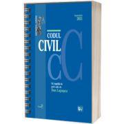 Codul civil, Septembrie 2021 - editie spiralata, tiparita pe hartie alba