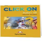 Curs limba engleza Click On 3. Audio CD elev
