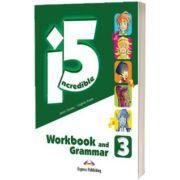 Curs limba engleza Incredible 5. 3 Caiet si Gramatica cu Digibook App