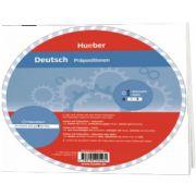 Deutsch. Prapositionen Wheel, HUEBER