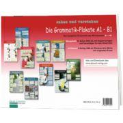 Die Grammatik Plakate A1, B1. Ubungsheft und 10 Plakate