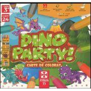 Dino party! - carte de colorat