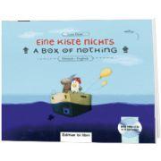 Eine Kiste Nichts Kinderbuch Deutsch-Englisch mit Audio-CD, Lena Hesse, HUEBER