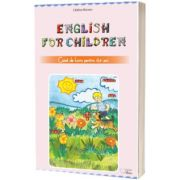 English for children, caiet de lucru pentru 4 ani, Catalina Mocanu, CABA