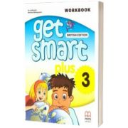 Get Smart Plus 3 Workbook + CD-ROM British Edition, Marileni Malkogianni, MM PUBLICATIONS