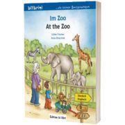 Im Zoo Kinderbuch. Deutsch-Englisch, Ulrike Fischer, HUEBER