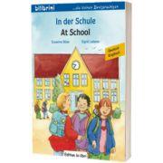 In der Schule Kinderbuch Deutsch-Englisch, Susanne Bose, HUEBER