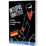 Interpol ermittelt. Deutsch lernen fur Krimi-Fans Sprachspiel. Die Kunst, die richtigen Fragen zu stellen