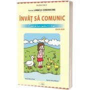 Invat sa comunic - Caiet de lucru pentru 2-3 ani, Valeria Cinca, CABA