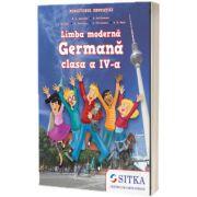 Limba moderna Germana manual pentru clasa a IV-a, M. A. Apicella, Sitka