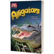 Literatura CLIL Alligators reader cu cross-platform APP.