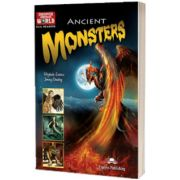 Literatura CLIL Ancient Monsters reader cu digibook APP