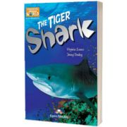 Literatura CLIL The Tiger Shark reader cu cross-platform APP.