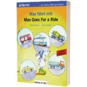 Max fahrt mit Kinderbuch Deutsch-Englisch Max Goes for a Ride, Ulrike Fischer, HUEBER