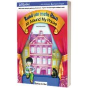 Rund um mein Haus Kinderbuch Deutsch-Englisch All Around My House, Helja Albersdorfer, HUEBER