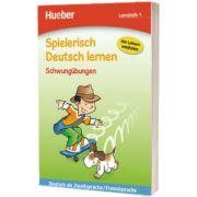 Spielerisch Deutsch lernen Schwungubungen. Lernstufe 1