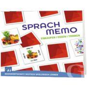 Sprachmemo Deutsch. Einkaufen, Essen, Trinken Sprachspiel A1