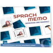 Sprachmemo Deutsch. Werkzeuge und Haushalt Sprachspiel A1