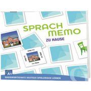 Sprachmemo Deutsch. Zu Hause Sprachspiel A1