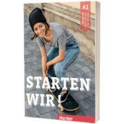 Starten wir! A1 Kursbuch, Rolf Bruseke, HUEBER