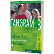 Tangram aktuell 3. Lektion 1-4 Kursbuch und Arbeitsbuch mit Audio-CD zum Arbeitsbuch, Rosa Maria Dallapiazza, HUEBER