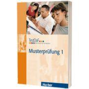 TestDaF Musterprufung 1. Heft mit Audio-CD Test Deutsch als Fremdsprache, HUEBER