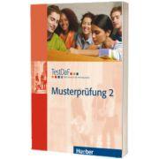 TestDaF Musterprufung 2. Heft mit Audio-CD Test Deutsch als Fremdsprache, HUEBER