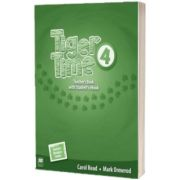 Tiger Time Level 4 Teachers Book plus eBook Pack