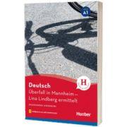 Uberfall in Mannheim Lekture mit Audios online, Anne Schieckel, HUEBER