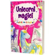 Unicorni magici. Carte de colorat, FLAMINGO JUNIOR
