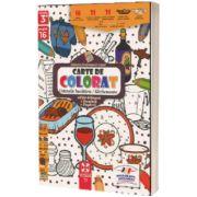 Ustensile de bucatarie, carte de colorat