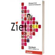 Ziel C1. Band 2. Lektion 7-12. Paket Kursbuch und Arbeitsbuch mit Lerner-CD-ROM, Rosa Maria Dallapiazza, HUEBER