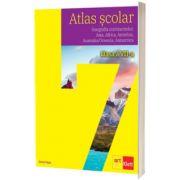 Atlas scolar, clasa a VII-a