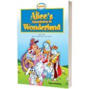 Literatura adaptata pentru copii. Alice's Adventures in Wonderland Retold Set cu Multi-Rom