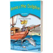 Literatura adaptata pentru copii. Anna and the Dolphin Retold cu cross-platform app.