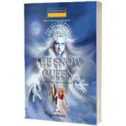 Literatura adaptata pentru copii. Benzi desenate - The snow queen illustrated cu cross-platform app.