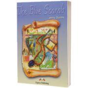 Literatura adaptata pentru copii. The Blue Scarab Pachetul elevului (carte + audio CD + caiet de activitati)