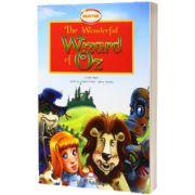 Literatura adaptata pentru copii. The wonderful wizard of Oz Set cu MULTI-ROM